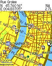 carte de france gps garmin