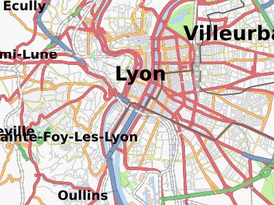 Openstreetmap à Lyon